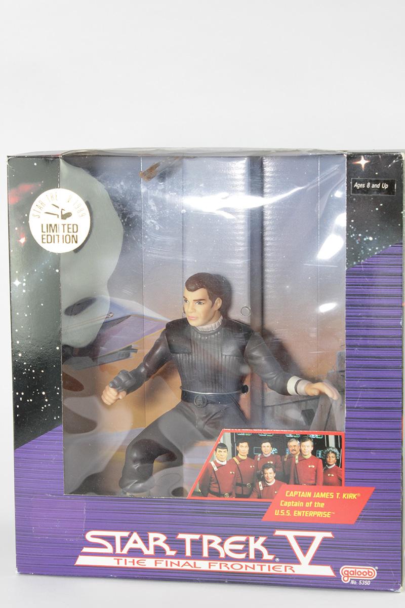 Star Trek V 1989 Limited Edition Captain James T. Kirk