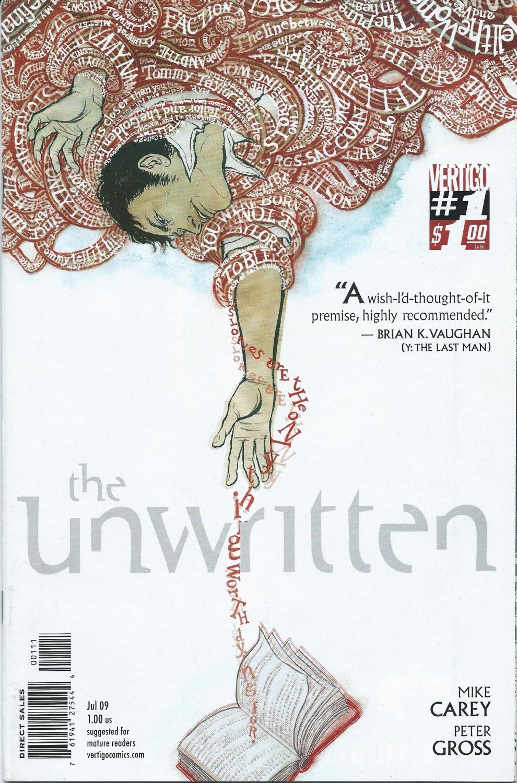 Vertigo DC Comics- The Unwritten #1, July 2009