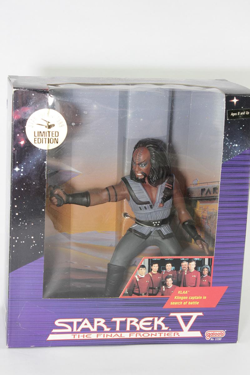 Star Trek V 1989 Limited Edition KLAA