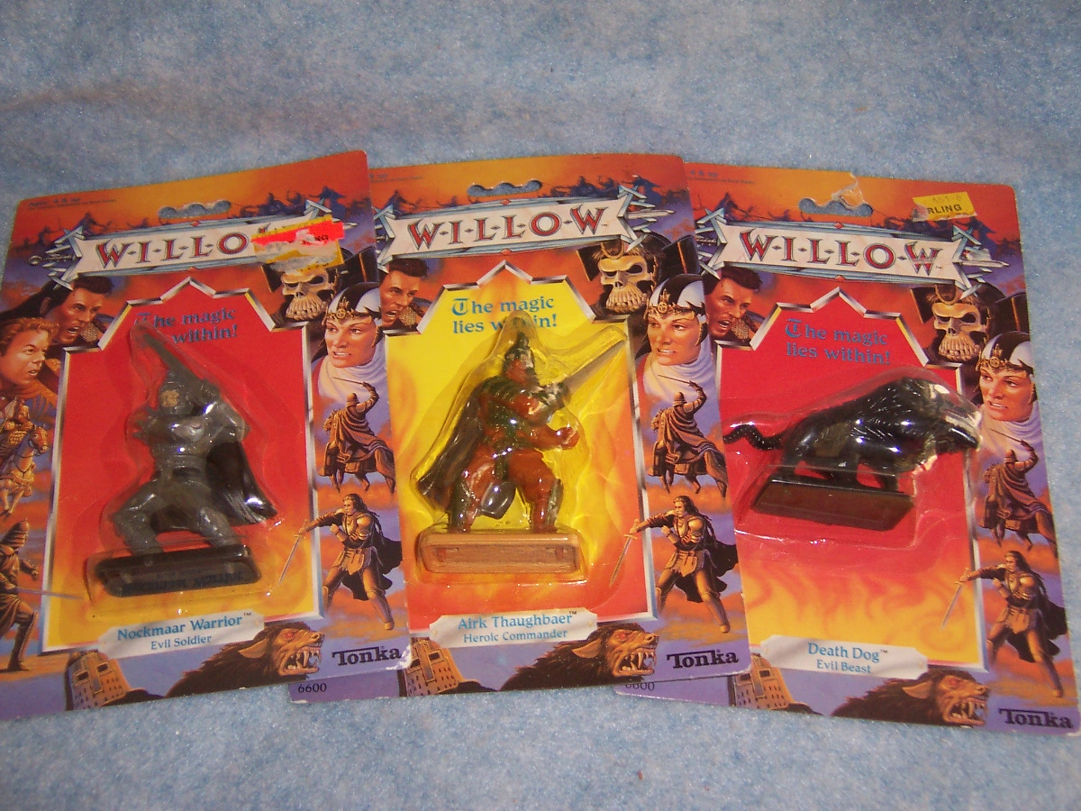 1988 Willow Figures-  Set of 3