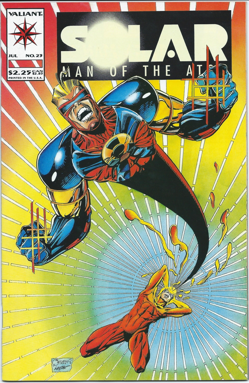 Valiant Comics- Solar, Man of the Atom,  #23, July 1993