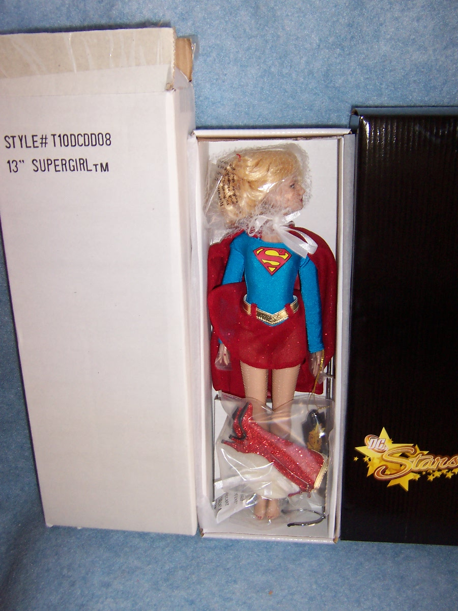"""Robert Tonner DC Stars Collection- 13"""" Supergirl LE1000"""