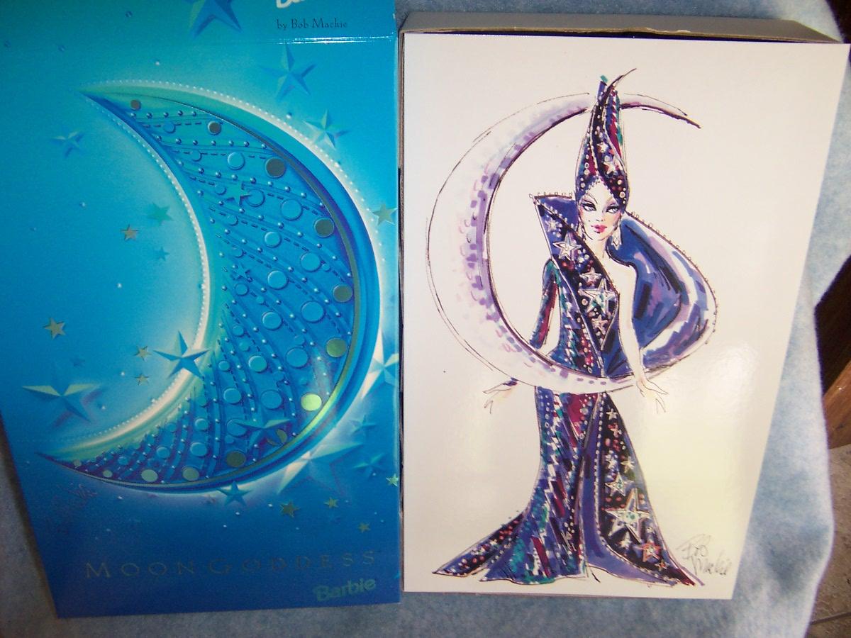 1996 Moon Goddess Barbie by Bob Mackie (Designed Edition) #14105