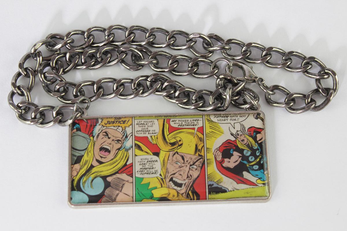 Thor and Loki Necklace